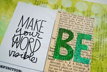 My One Word -Ideas to Keep It Visible