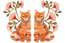Cat's / by Almitta Berumen