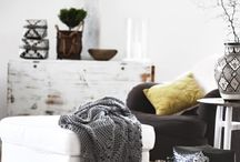 Relaxing at home / Vintage chic