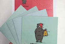 Pelican Post / Pelican Post is a new line of whimsical animal greeting  cards designed and printed in Amsterdam.