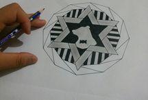 Mandala / Zentangle çizimleri