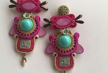 CocoNina Handmade / handmade embroidered jewels by Elena Fernández