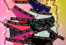 victoria's secret pink-underwear