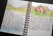 saving memories  / I love to journal, the following pins are beautiful examples and ideas of creative pages!