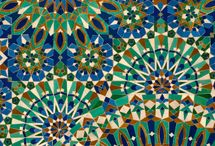 Persian and Moroccan  pattern