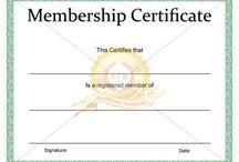 certificate of membership template