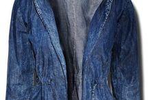 Kurtka Damska Parka Jeans Dekatyzowany Marmurek #114 fashionavenue.pl