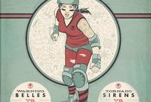Roller derby artwork inspiration / by Liz Christiansen
