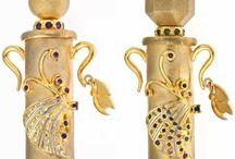 Colliers de bouteille de parfum / Parfum bottle necklaces / by C. Marie Cline