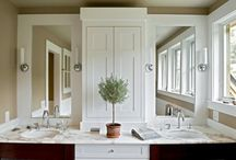 Master Bath Ideas / Ideas for my upcoming master bath renovation.  / by Kyle Smith