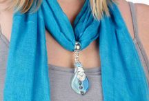 CRAFT .. SCARF JEWELRY AND MORE / by Susan Wilson