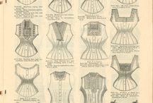 1850s fashion corset