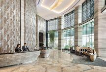 hotel / public area of hotel  : reception, coridor, lobby, etc