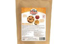 Mix Biscuits / Avec ce Mix, réalisez des cookies salés ou sucrés mais aussi des sablés, des tartes et des crumbles.