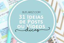 Ideias de vídeos pro canal