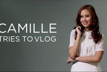 Camille Tries to Vlog / by Camille Co