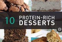 High Protein Desserts