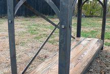 Nábytok - drevo, kov