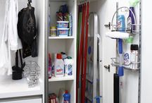 Laundry / Cleaning closet;