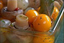 засолка грибов с томатами