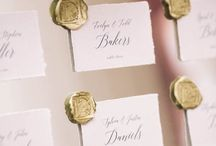 escort cards/seating charts