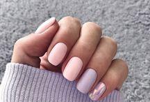 Короткие ногти mou iiiii