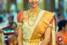 South Indian Bride in Talambralu saree / Gorgeous Board for South Indian Bride in Talambralu saree