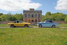 Triumph Stag / Triumph's grand tourer..... Awesome V8 ....