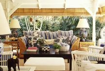 outdoor rooms + porches