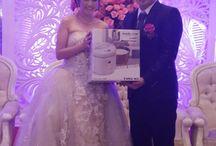 Event Yong Ma Magic in White / event promotion, foto pengantin baru dengan produk Yong Ma