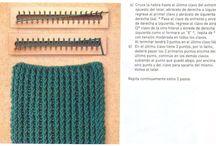 telar para bufandas