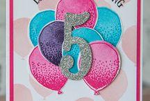 SU Balloon cards