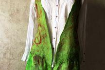 Nuno felted vest