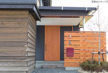 玄関 引戸ドア / 新築やリフォームでおすすめしたい玄関用木製引き戸ドア。人気のドアや施工例を載せています。