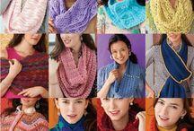 Crochet Scarfs/cowls/shrugs/wraps