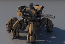 Mechs & Drones / Pilotable Robots, Walking Tanks & Other Related Machines