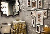 bathroom boho