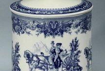 Blue porcelain- Angol porcelánok