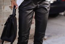 Leather Pants Outfits!!!