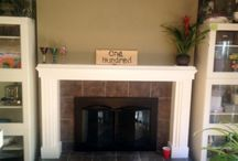 Fireplace Remodel by ASG Painting Serving New Haven and Fairfield CT Counties / Fall is here! It will soon be time to cozy up in front of your fireplace. A fireplace makeover can provide a relaxing atmosphere for the whole family to enjoy while adding value to your home.