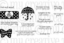 Pain Pain Go Away / Inspiration for this stamp set!