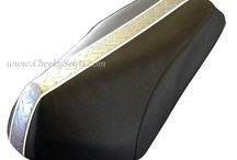 Genuine Roughhouse Rattler Scooter Seat Covers / We love the Roughhouse, and have some great seat covers to help you spruce up your ride!