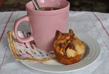 Food - {Muffin Obsession} / The perfect portable, portioned food, its easy to become obsessed. / by Bethany Beers