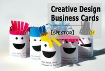 Creative Design. Business Cards / These creative business card alternatives are bound to leave a lasting impression on whoever you come in to contact with, take note.