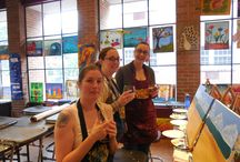 Girls Night Out / A night of painting, wine, and fun with the girls!