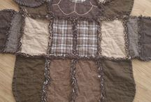 animal shape rag quilt / by Tracy Gray