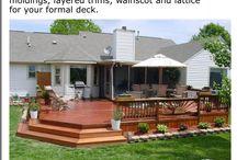 Deck/patio ideas / by Ashly Lowe