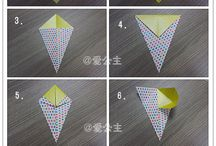 origami uccelli