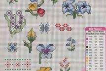 haft krzyżykowy małe wzory