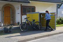 http://element13.de/produkte/fahrradbox/ / Fahrradboxen, das Zuhause für Ihr Fahrrad!